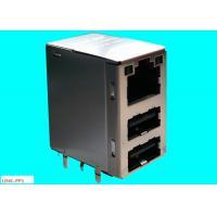 Dual USB Combo  RJ45 45F-10201DYDXNL10 / 100 / 1000 BASE-TX JACK LPJU5202BONL