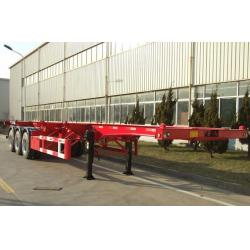China Titan container trailer chassis , container trailer manufactuer , shipping container chassis trailer on sale