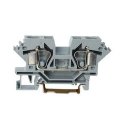 China Insulated 800V 57A Rail Mounted Terminal Blocks Connector With 12 - 13 mm Strip on sale
