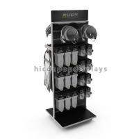 Hanging Slatwall Display Stands / Motorcycle Helmet Display Customized