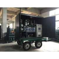 High Vacuum Mobile Transformer Oil Purifier With Air Booster / Roots Vacuum Pump