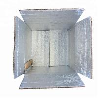 Biodegradable Corrugated Paper Box , Frozen Food Shipping Boxes