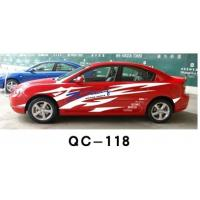 Designer Car Body Sticker QC-118F / Car Decoration