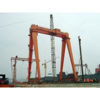 OEM Remote Controlling Gantry Shipyard Cranes For Granite Industry
