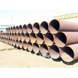 China api 5l x65 lsaw steel pipe, Seamless Steel Pipe for Oil Casing Tube, Welded Carbon Steel Pipes for Bridge Piling Constru on sale