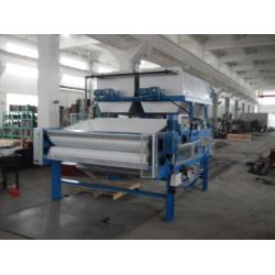 China Sludge Dewatering Equipment belt filter press in sludge and wasting water treatment on sale
