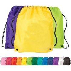 Pure Color Non Woven Bag Large Sports Nylon Cloth Drawstring Bag ...