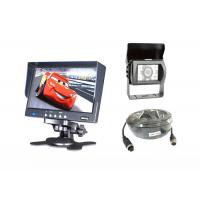 7 Inch LCD Monitor With Sun Shade Cover Engine Monitoring System For Cars
