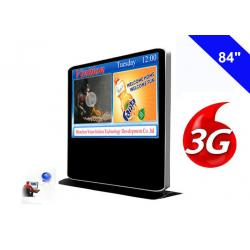 China Full HD 3G Digital Signage Free Standing Kiosk Android Advertising Media Player on sale
