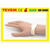 High End Wrist Identify Medical ID Bands , Medical Barcode For Mother / Kids / Patient