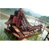 chain bucket placer gold dredger