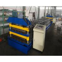 Non Stop Cutting Aluminium Roofing Sheet Roll Forming Machine 380V