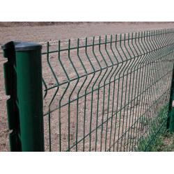 China Garden Green Wire Mesh Fence With Low Carbon Steel Plastic Coated on sale