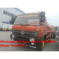 HOT SALE! customized dongfeng 4*2 RHD 10,000Liters water sprinkling truck for Timor-Leste, dongfeng water tank truck