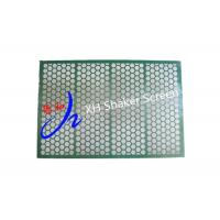 Green Color 1250 * 850 mm Metal Screen Mesh For Shale Shaker