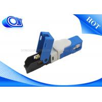 Single Model SC Type Fiber Optic Fast Connector FTTH Low Polarization Dependent Loss