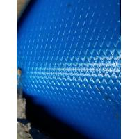 Blue Embossed Pre Painted Steel Sheet SMP Coating For Wall Decoration Material