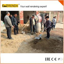 China Silver Color Compact Cement Mixer , Environmental Hand Concrete Mixer  on sale