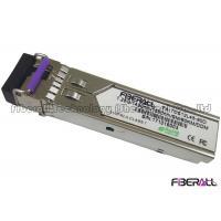 1.25Gbps BIDI Single Fiber LC SFP Optical Transceiver Single Mode 80Km DDM