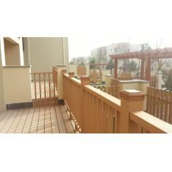 China WPC Construction Plastic Wood Fence and Floor for Outdoor Courtyard and Garden on sale