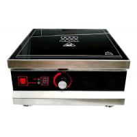 3KW Ceramic Induction Hob , Single Induction Cooktop With Temperature Control