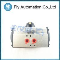 Air Torque Double / Single Acting Pneumatic Rotary Actuators 1/4 1/2 1 Size Aluminum AT105 Series