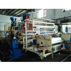 China Environmental Five Layers Co-Extruded PE Cling Film Line Making Machine on sale