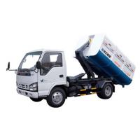 Sealed Rear Loading Garbage Truck , Special Purpose Vehicles