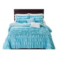 Non Woven Fabric White Down Alternative Comforter Set 100% Polyester Size Optional