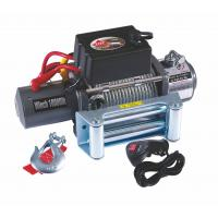 9500lb Electric recovery winch truck trailer