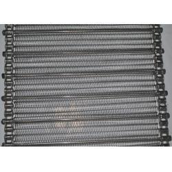 China 304 SS Flat Flex Wire Belt , Mesh Spiral Conveyor Belt For Food Processing on sale