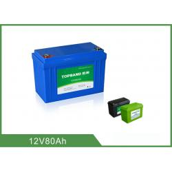 China Powerful Reliable 12v 80ah Battery Lithium Iron Phosphate Eco - Friendly on sale