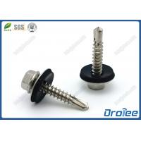 Stainless Steel Hex Washer Head Self Drilling Screws with EPDM washer