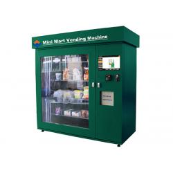China High Capacity Network Vending Machine with Coin Acceptor , Banknote Acceptor and Credit Card Reader on sale