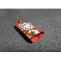 100ml Spout Stand Up Pouch Food Grade Recycled For Tomato Sauce