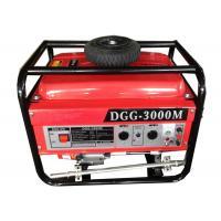 Hand start small portable generators gasoline power 3000w CE certificate