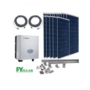 China Stand Alone Domestic Solar Power Systems Photovoltaic Battery Module Dust Proof supplier