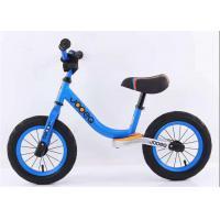 12 14 High Carbon Steel Children Balance Bike  Baby Push Bike With Leather Saddle