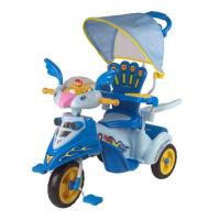 Lovely Bird Baby Smart Trike With Basket , Blue Children Tricycle