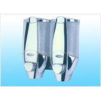 Plated Chromed Silver Surface plating treatment The Manual Press Shower Soap Dispenser