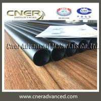Carbon fibre gutter cleaning poles in 10 sections of tapered round tube, carbon gutter pole