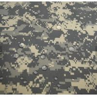 High quality fashion Waterproof  pvc coated winter snow camouflage fabric