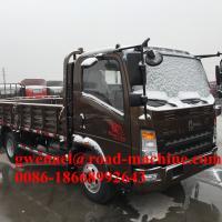 100HP Small Cargo Van Light Duty Commercial Trucks With MAN Axles