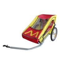 Streamline design Single Child Bike Trailer With Silver Powder Coating