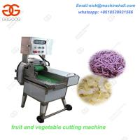 Automatic Potato Chips Cutter for Sale/Factory Price Vegetable/Fruit Cutting Machine/Vegetable&Fruit Cutter  Price