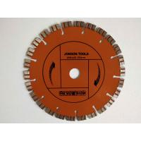 200 Mm Laser Welded Diamond Blade Concrete Saw With Double Turbo Segments
