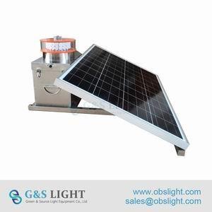 China Medium intensity Type A Solar Aviation Obstruction Light supplier