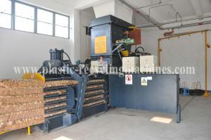 Cloth / Wool Packing Plastic Auxiliary Machine Horizontal Baler Equipment