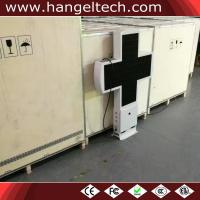 500x500mm Outdoor P5mm Double Sided LED Pharmacy Cross Video Display for Drugstore - 96x96 Pixels