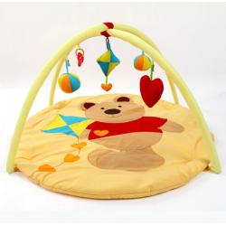 China Winnie The Pooh Happy Garden Baby Play Gym And  Mat Activity Toy And Floor Soft Foam Toddler Child Melodies Time on sale